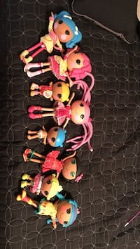 assorted Lalaloopsy doll collection