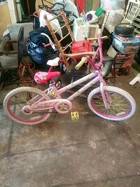 toddler's pink and white bicycle Machesney Park, 61115