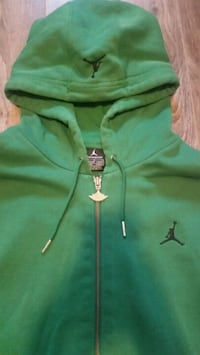 Air Jordan zip up hoodie Large