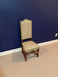 Six high back kitchen/dining chairs