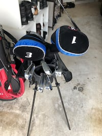 RAM golf irons, woods, driver and bag for beginner Leesburg, 20176