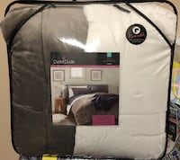 gray and white CuddlDuds bedspread sheet with pack Louisville, 40223