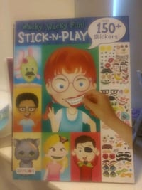 Stick and play-stickers