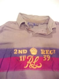 brown blue and red polo ralph lauren polo shirt Edinburg, 22824