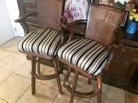 2 great bar stools 31 inches from the floor Albuquerque, 87121