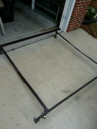 Firm price queen or twin bed frame on wheels