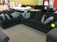 sofa and loveseat with throw pillows Alexandria, 22309