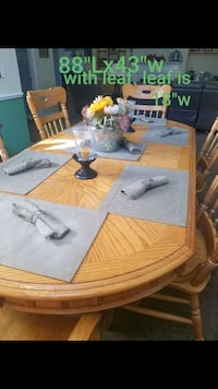 PRICE REDUCED .  Quality Dining room table Myrtle Beach, 29575