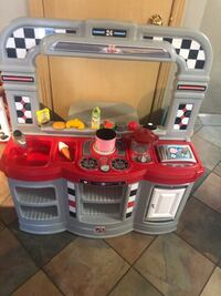 SUPER CUTE KIDS DINER KITCHEN