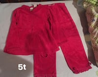 Girl winter clothes 4-5yrs 33 km