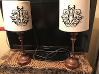 lamps with creamy beige lampshades Alexandria, 22312