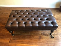 Brown Leather Ottoman Los Angeles, 90048