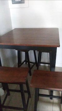 brown wooden table with chair Hanford, 93230