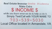 Real estate investing education partner up Annandale