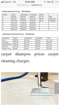 CARPET CLEANING SPECIAL! TODAY ONLY! $50 for ENTIRE HOUSE!!