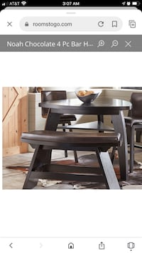 Beautiful chocolate color table Webster, 77598