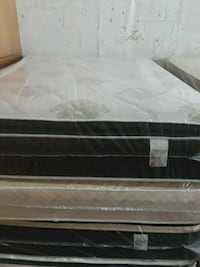 black and white bed mattress Opa-locka