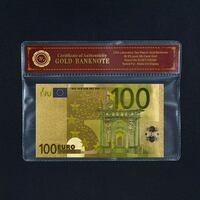 Billete 100 euros Oro 24k