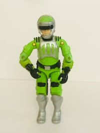 Vintage GI Joe Sci-Fi Laser Trooper Action Figure 1986 Worth