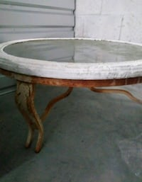 round brown and white wooden table Orlando, 32809