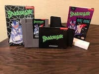 1989 Shadowgate for Nintendo Entertainment System NES. Complete! CIB W/ Mail-in Hint Book! Colorado Springs, 80918