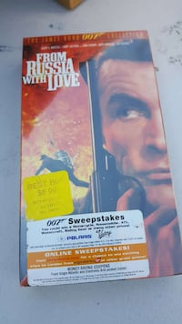 New VHS FROM RUSSIA WITH LOVE  South Gate, 90280