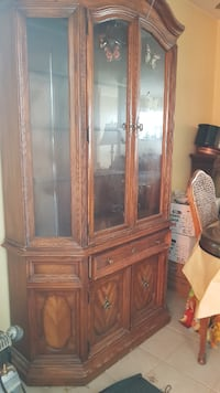 37 yr ol beautiful antique china cabinet Delta