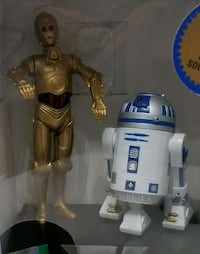 Star Wars C3PO and R2D2 ralking bank Hagerstown, 21742