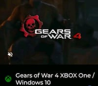 GEARS OF WAR 4 XBOX ONE S / PC