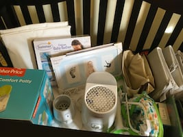 NURSERY ITEMS $90 FOR ALL, MESSAGE FOR PICS AND SPECIFIC ITEMS PRICES