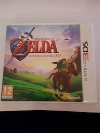 Zelda ocarnia of time 3D 3DS Sandnes, 4311