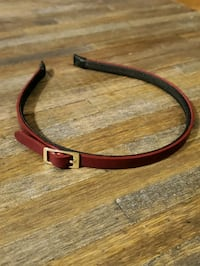 Purple Faux Leather Hair Band with Buckle Detailing Toronto, M2R 2M1