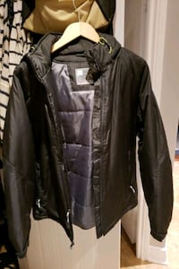 womens light black jacket