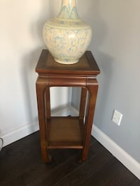 Brown wood plant stand New Boston, 03070