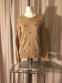 Light brown sweater with gem details Mauldin, 29607