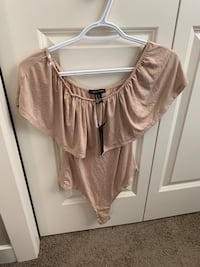 Brand new off the shoulder body suit Calgary