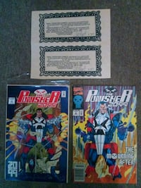 Punisher #1 n punisher#2 signed w authenticity pap Jacksonville, 32224