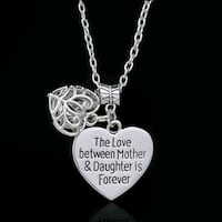 $8 NEW silver plated mother/daughter necklace  Ballwin, 63021