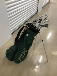Ping golf bag and off-brand clubs Houston, 77025