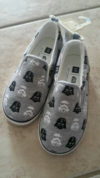 NEW Star Wars Darth Vader Toddler Size 10 Shoes Milton