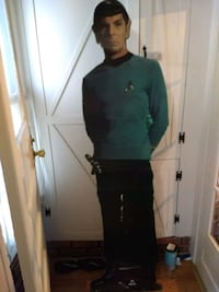 Mr. Spock, cardboard stand-up Pawnee, 62558