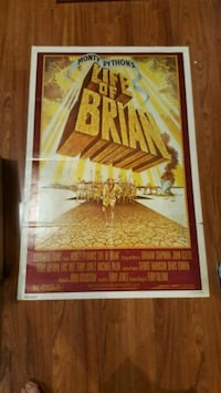 Rare 1979 Life of Brian Monty Python Poster New Hamburg, N3A 1Z2