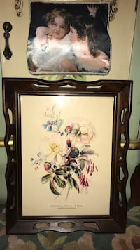Beautiful! Vintage Victorian Flower Picture 33 km