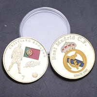 MONEDA CRISTIANO RONALDO REAL MADRID Elche
