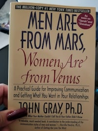 Men Are From Mars Women Are From Venus by John Gra