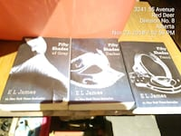 Fifty shades books  3138 km