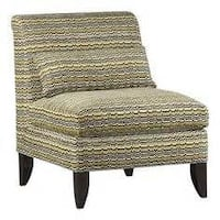 Crate and Barrel Silhouette Armless Chair with Matching Pillow Lakewood, 90715