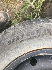 Michelin 226 / 60 / r16 tire and rim. Lots of tread on tire Airdrie, T4B 1E2