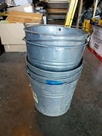 Antique metal buckets Edmonton, T5T 6E2