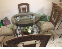 Beautiful dining room table with 4 chairs MIAMI